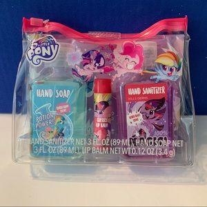 My Little Pony Hand Soap Lip Balm Gift Set New